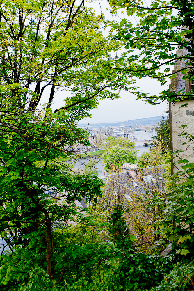 Overlooking the River Ness
